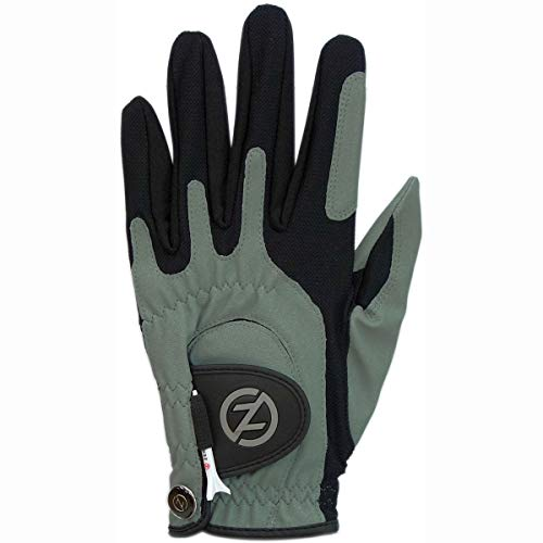 Zero Friction Men's Golf Gloves, Left Hand, One Size, Silver