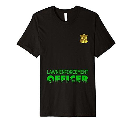 Lawn Enforcement Officer Mowing Men Women Gift
