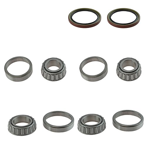 Front Inner Outer Wheel Bearing & Seal 6 Piece Kit for Chevy S10 Regal El Camino