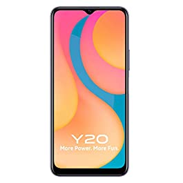 Vivo Y20 (Dawn White, 4GB RAM, 64GB Storage) with No Cost EMI/Additional Exchange Offers