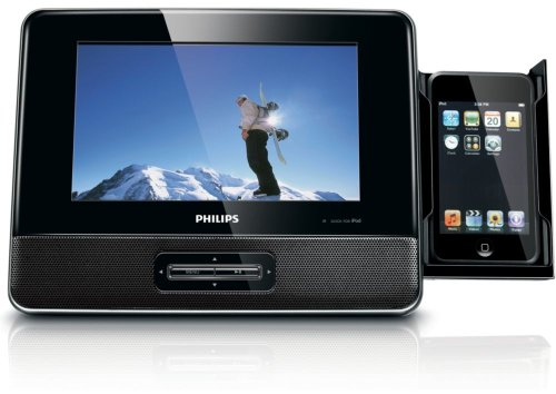 Philips 7-inch Docking Video Player for iPod