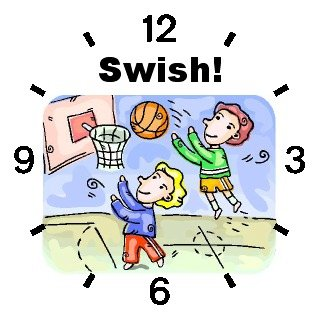 Children Playing Basketball Basketball Theme - WATCHBUDDY ELITE Chrome-Plated Metal Alloy Watch with Metal Mesh Strap-Size-Large ( Men's Size or Jumbo Women's Size )