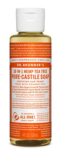 Dr. Bronner's Magic Soaps: Liquid Castile Soap, Tea Tree 4 o