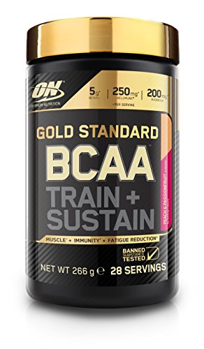 Optimum Nutrition Gold Standard BCAA Branch Chain Amino Acids with Vitamin...