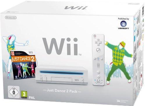 Nintendo Wii - Consola + Just Dance 2, blanca [Importación alemana]: Amazon.es: Videojuegos