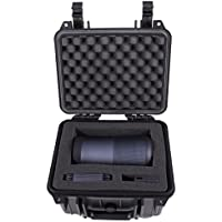 Waterproof Crushproof Bose Revolve Plus Case - Protective Foam Designed Specifically to Cover Bose Soundlink Revolve+ Bluetooth Speaker and Accessories Such As Cradle , Charger , Dock , USB Cable