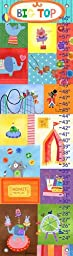 Oopsy Daisy Big Top by Jill McDonald Growth Charts, 12 by 42-Inch