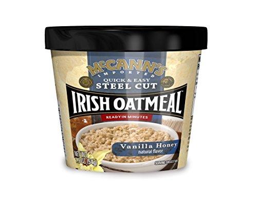 Vanilla Oatmeal (McCann's Vanilla Honey Instant Oatmeal Cups, 1.9 Ounce (Pack of 12))
