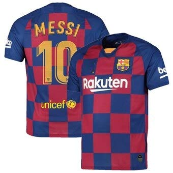 premium selection 0dfc7 ec749 GOLDEN FASHION Barcelona Home KIT with Messi Printed Jersey with Short  2019-20
