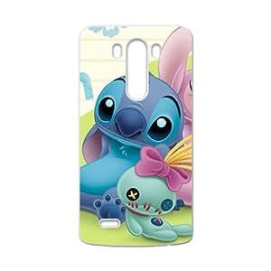 Happy Lilo & Stitch Case Cover For LG G3 Case