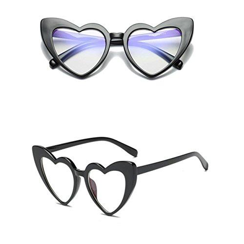 Aoligei Mode réseau Red Wind ensemble forages lunettes de soleil carrées atmosphère lunettes BuyXu