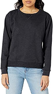 Hanes Womens Women's Long Sleeve Bound Neck Rib Vnotch
