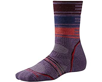 Smartwool Women's PhD Outdoor Medium Pattern Crew Socks (Desert Purple) Small - Past Season