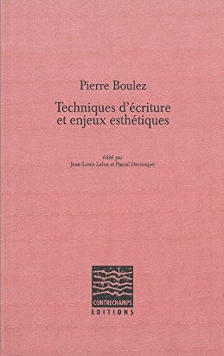 latelier decriture essais et documents