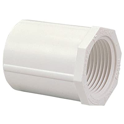 NIBCO 435 Series PVC Pipe Fitting, Adapter, Schedule 40, Slip x NPT Female