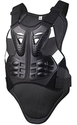 Motorcycle Armor Vest Chest Back Spine Protector Touring Motocross Off-Road Racing Cycling Body Guard (XL)