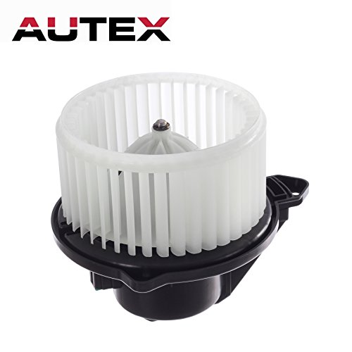 AUTEX HVAC Blower Motor Assembly Compatible with Dodge Ram 1500 2500 3500 4500 5500 Truck 2002-2010 Replacement for Jeep Grand Cherokee 02-04 Heater Blower Motor with Fan Cage 700012