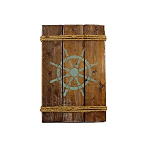41MnB-ABPgL._SS300_ Nautical Wooden Signs & Nautical Wood Wall Decor