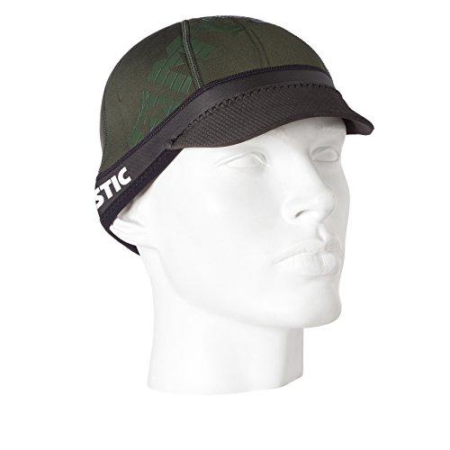 Mystic Brimstar Neoprene Visor Beanie Head Wrap Water Hat Hood Wetsuit Army Green - Extra Large Wetsuits
