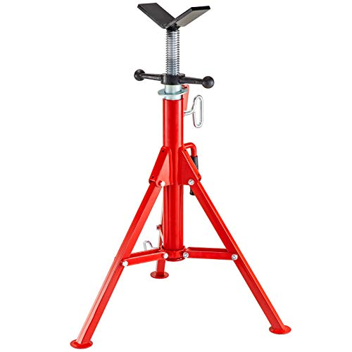 Mophorn 0.5-12 inch V Head Pipe Stand Adjustable
