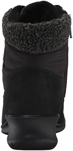Black12001 Babett Mujer Wedge Ecco para Botines Negro ZwqpdY8