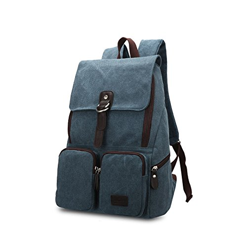 Bwiv Bolso mochila para mujer, B · Braun (multicolor) - FBGJO-15-29 A · Blau