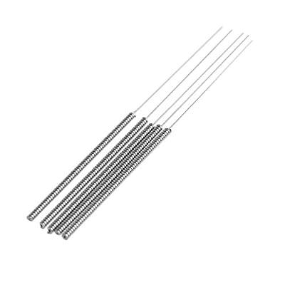 5pcs 0.2mm 3D Printer Drill Bit Nozzle Cleaning Tool Kit