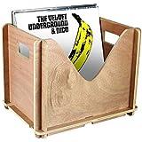 Warm Stylus Vinyl Record Storage LP Holder Perfect Vinyl Storage - 50 Record Album Holder