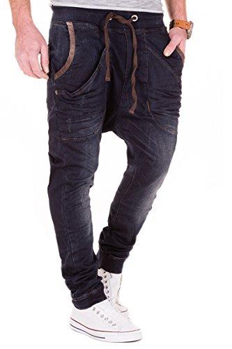 Redbridge Jogg Jeans by Cipo & Baxx Herren Drop Crotch Hose Sweathose Slim Fit W29-W38 L32/L34