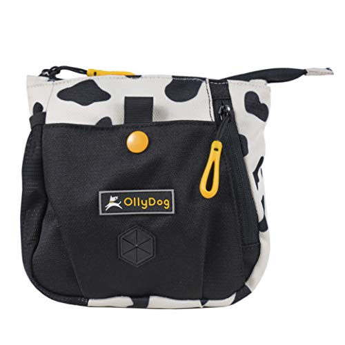 OllyDog Backcountry Dog Treat Bag with Belt Clip, Hide, One Size ()