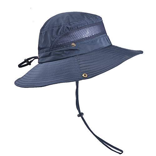 Sonnenhut Herren Damen UV Schutz Hut Faltbar Wanderhut Gartenhut Fischerhut Outdoor Buschhut Hiking Bucket Hat Freie Gr/ö/ße, Beige