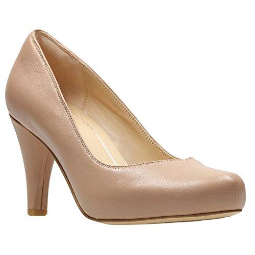 Clarks - Womens Dalia Rose Shoe, Size: 5.5 B(M) US, Color: Nude Leather
