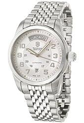 Victorinox Swiss Army Men's 24150 Ambassador Silver Dial Watch