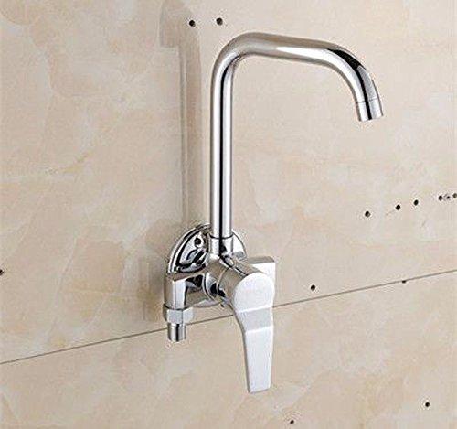 ETERNAL QUALITY Badezimmer Waschbecken Wasserhahn Messing Hahn Waschraum Mischer Mischbatterie Tippen Sie auf die Kupfer Küche Wasserhahn Mischventil Wall Art Wasserhähne