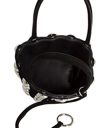 Alexander In Mod Mini Bucket Stud 2099c0114s Black Donna Wang Roxy Suede Dome rqrYS