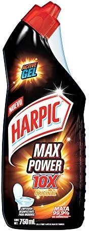 Harpic Max Power 2 Pack, color, 2PK x 750ml, pack of/paquete de