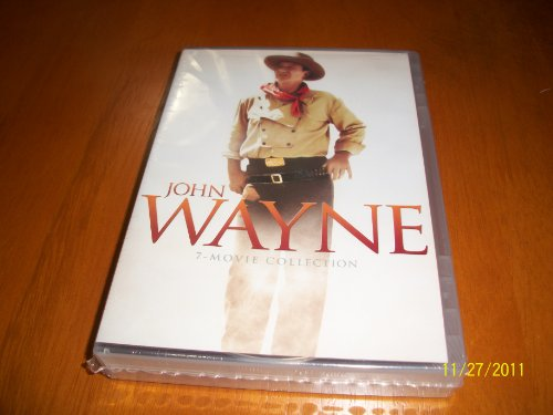 John Wayne 7 Movie Collection (The Alamo, The Big Trail, The Comancheros, The Horse Soldiers, Legend of the Lost, North to Alaska & The Undefeated). by