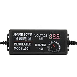 New 9-24V 3A 72W AC/DC Adapter Switching Power Supply Regulated Power Ad