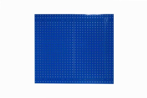 Triton Products LB2-B LocBoard Steel Square Hole Pegboards, 24-Inch x 42-1/2-Inch x 9/16-Inch, Blue by Triton 2