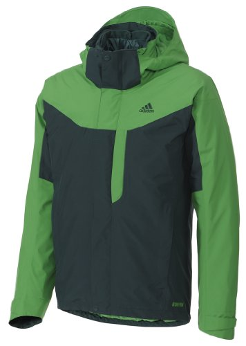 UPC 886837281818, Adidas HT 3in1 GTX Insulated Jacket - Men's Ivy Large