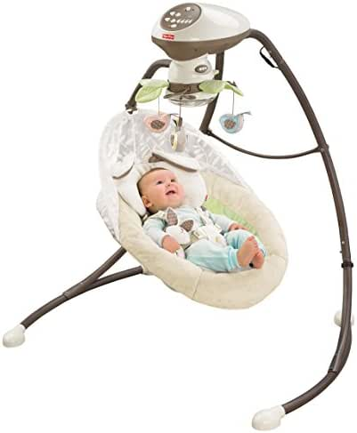 Fisher-Price My Little Snugabunny Cradle 'n Swing