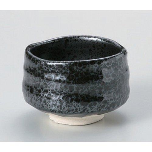 Matcha bowl oil droplets Tianmu tea bowl ( of ) [11.2 x 8cm] Tsuchimono strengthening Japanese instrument Liquor restaurant for hotel business by Crockery Honpo