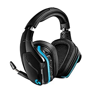 Logitech G935 Wireless DTS:X 7 1 Surround Sound LIGHTSYNC RGB PC Gaming  Headset