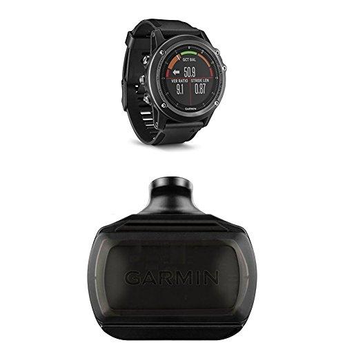 Garmin Fenix 3 HR, Gray and Bike Speed Sensor