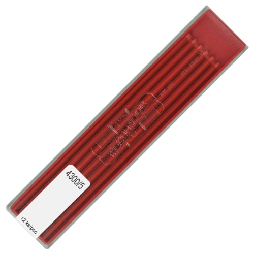 Koh-i-noor 2.0 mm Red Leads for Technical Drawing. 4300/5, Office Central