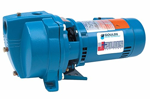 Goulds J5S Shallow Well Jet Pump, 115/230 volt, 1/2 - Shallow Pump Jet Goulds Well