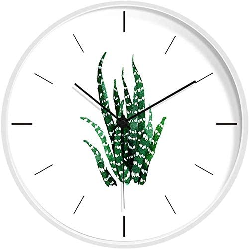 Amazon Com Storage Room Wall Clock Basement Kitchen Bathroom Restaurant Coffee Shop Stationery Shop Wall Clock Metal Wall Clock 20 30cm Color White Size 30 30cm Home Kitchen