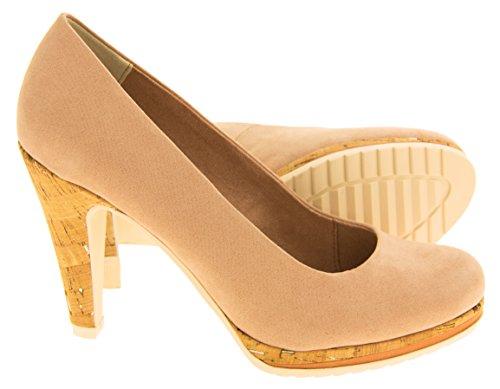 Marco Tozzi Mujer Color De Rosa Zapatos De Tacón Alto EU 36