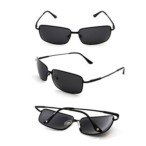 TESITE Protection 100 UV pour Lunettes De Noire PolariséEs Lunettes De Hommes Soleil Monture gqZ18gxwr