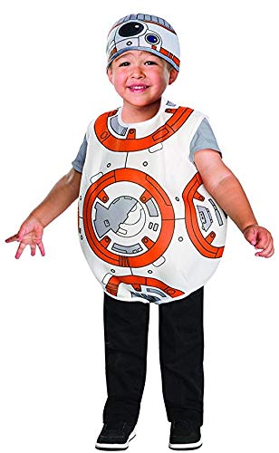 Rubies Costume Star Wars VII The Force Awakens BB-8 Costume Multicolor 4T (4 Pack) ()